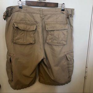 Ralph Lauren Polo military surplus cargo shorts 38
